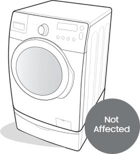 samsung front load washing machine recall